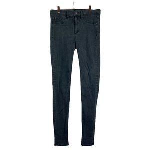 Rag & Bone black high rise legging skinny jeans 30